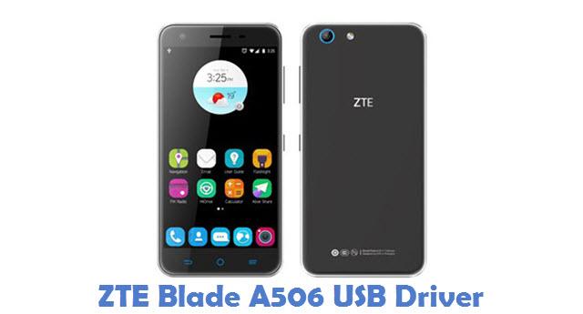 ZTE Blade A506 USB Driver