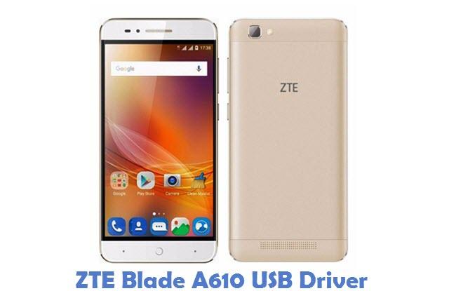 ZTE Blade A610 USB Driver