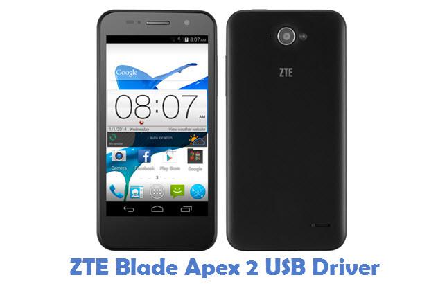 ZTE Blade Apex 2 USB Driver