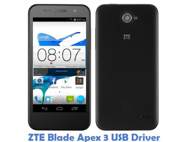 ZTE Blade Apex 3 USB Driver