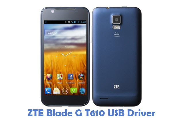 ZTE Blade G T610 USB Driver