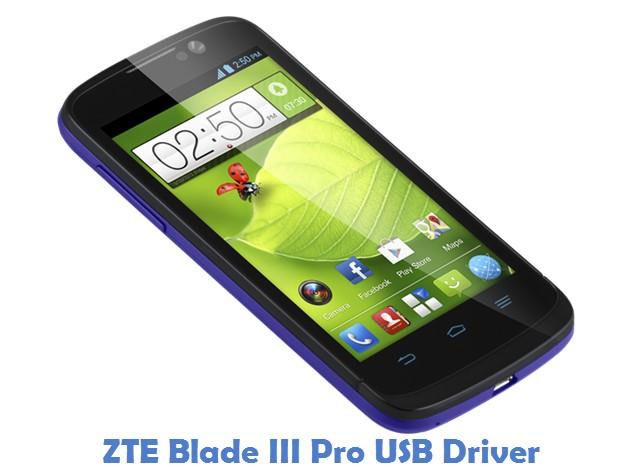 ZTE Blade III Pro USB Driver