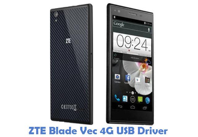 ZTE Blade Vec 4G USB Driver