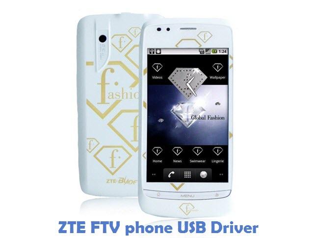 ZTE FTV phone USB Driver