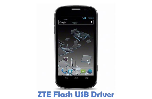 ZTE Flash USB Driver