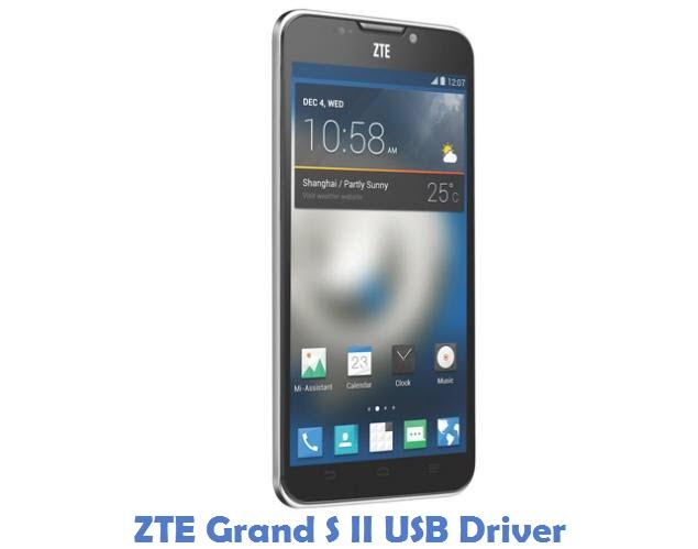 ZTE Grand S II USB Driver