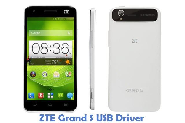 ZTE Grand S USB Driver