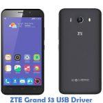 ZTE Grand S3 USB Driver