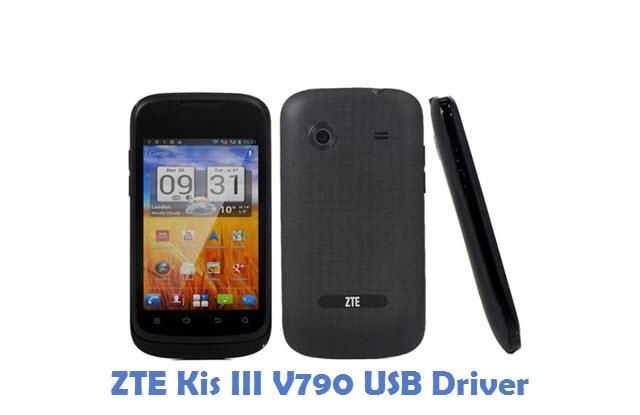 ZTE Kis III V790 USB Driver