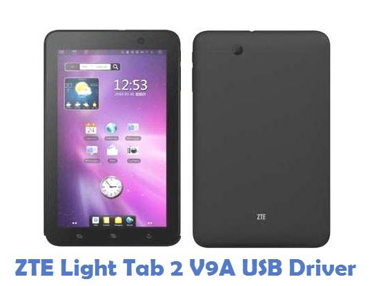 ZTE Light Tab 2 V9A USB Driver