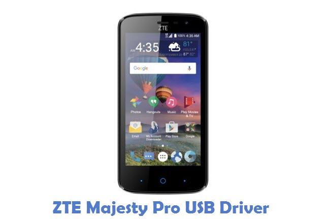 ZTE Majesty Pro USB Driver