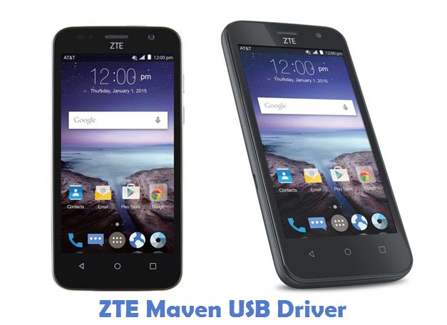 Download ZTE Maven USB Driver | All USB Drivers