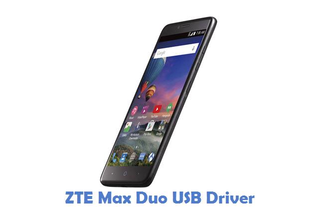 ZTE Max Duo USB Driver