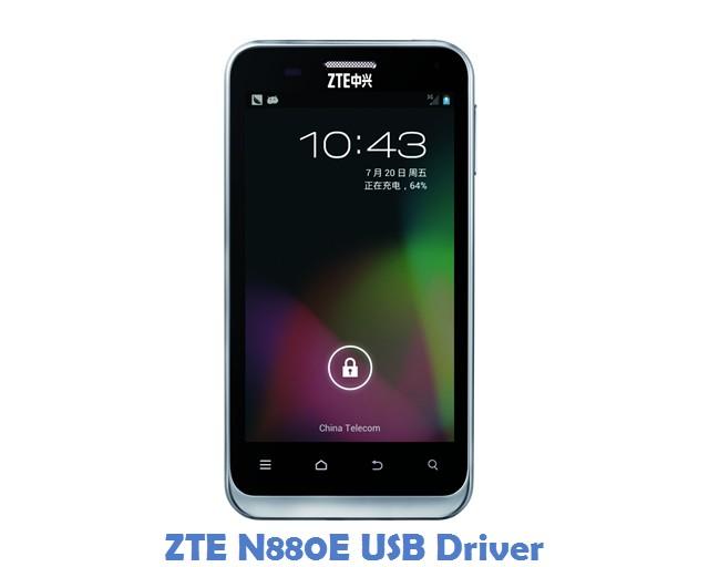 ZTE N880E USB Driver