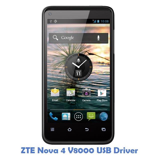 ZTE Nova 4 V8000 USB Driver