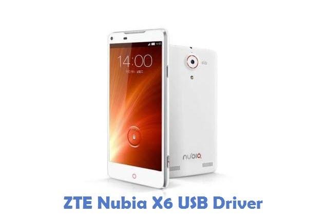ZTE Nubia X6 USB Driver