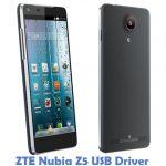 ZTE Nubia Z5 USB Driver