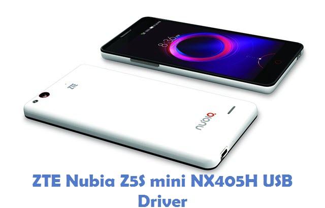 ZTE Nubia Z5S mini NX405H USB Driver