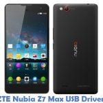 ZTE Nubia Z7 Max USB Driver