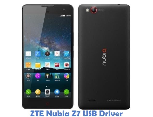 ZTE Nubia Z7 USB Driver