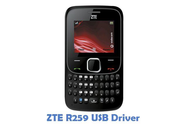 ZTE R259 USB Driver