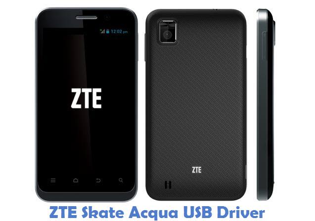 ZTE Skate Acqua USB Driver