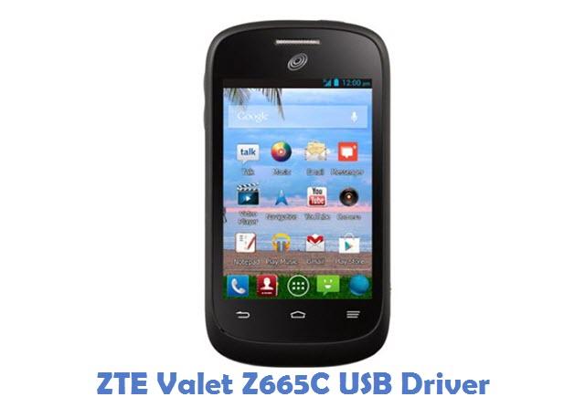 ZTE Valet Z665C USB Driver