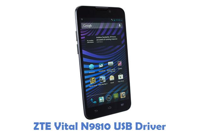 ZTE Vital N9810 USB Driver