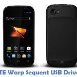 ZTE Warp Sequent USB Driver