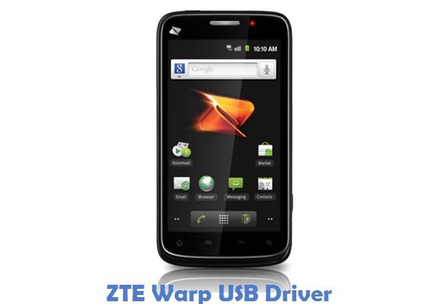 ZTE Warp USB Driver