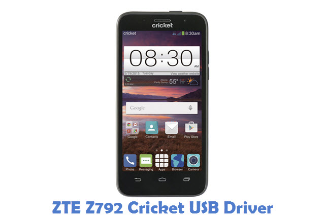 ZTE Z792 Cricket USB Driver
