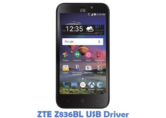 ZTE Z836BL USB Driver