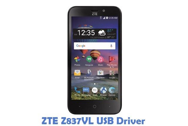 ZTE Z837VL USB Driver