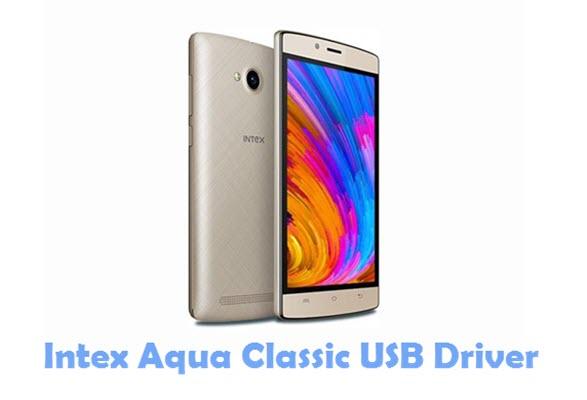 Download Intex Aqua Classic USB Driver