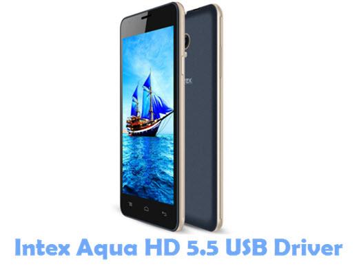 Download Intex Aqua HD 5.5 USB Driver