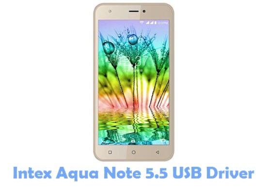 Download Intex Aqua Note 5.5 USB Driver
