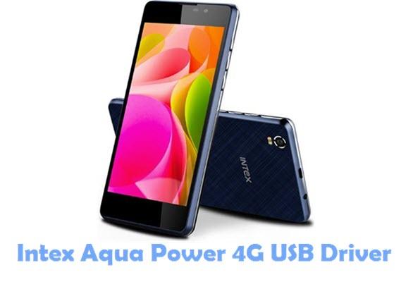 Download Intex Aqua Power 4G USB Driver