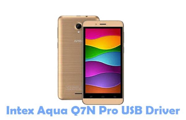 Download Intex Aqua Q7N Pro USB Driver