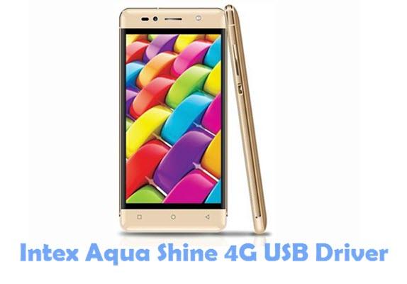 Download Intex Aqua Shine 4G USB Driver