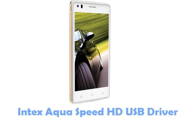 Download Intex Aqua Speed HD USB Driver