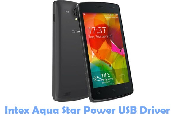 Download Intex Aqua Star Power USB Driver