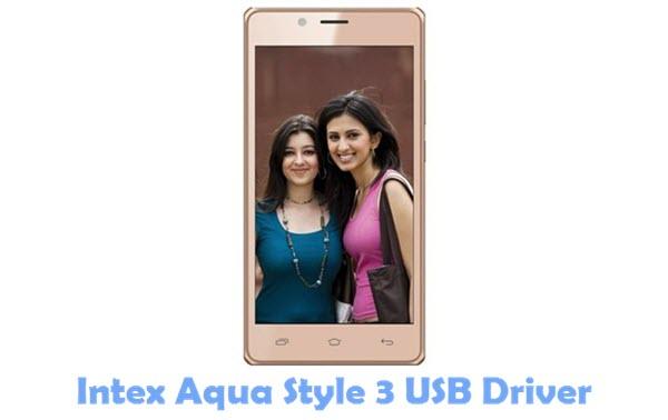 Download Intex Aqua Style 3 USB Driver