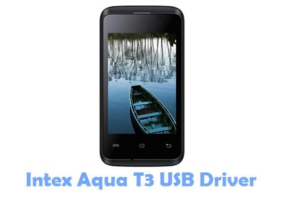 Download Intex Aqua T3 USB Driver