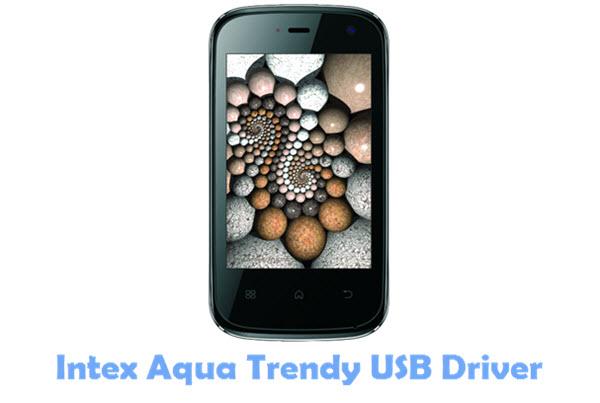 Download Intex Aqua Trendy USB Driver
