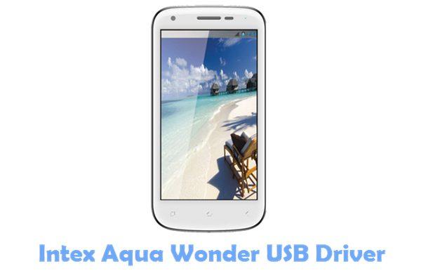 Download Intex Aqua Wonder USB Driver