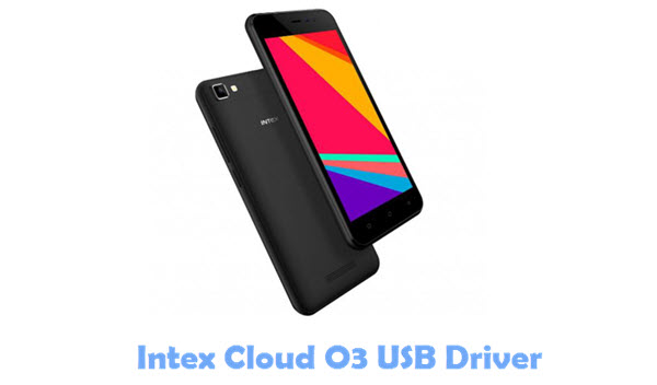 Intex Cloud O3 USB Driver