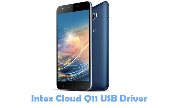 Intex Cloud Q11 USB Driver