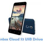 Intex Cloud S3 USB Driver