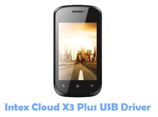 Download Intex Cloud X3 Plus USB Driver