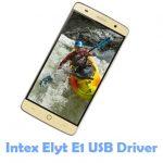 Intex Elyt E1 USB Driver